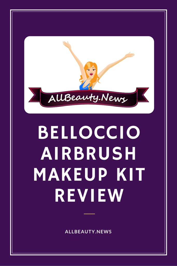 Belloccio Airbrush Makeup Kit Allbeauty News