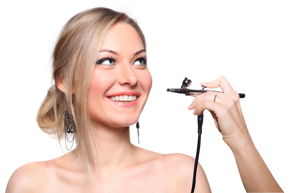 iwata airbrush makeup system review