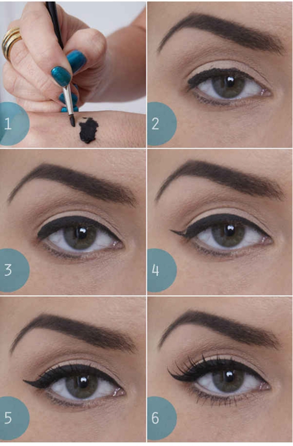 10 Stunningly Simple Tutorials For The Best Eye Makeup