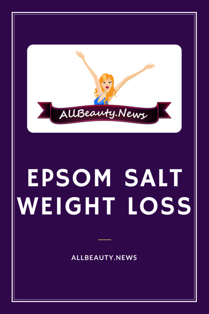 Epsom Salt Weight Loss