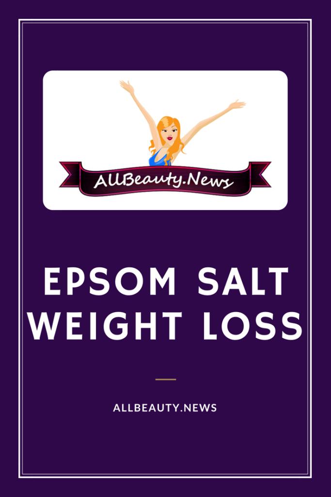 Epsom Salt Weight Loss