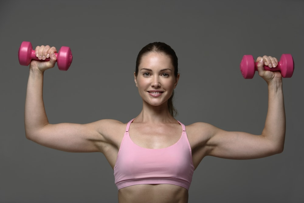 how to get rid of arm fat at the gym